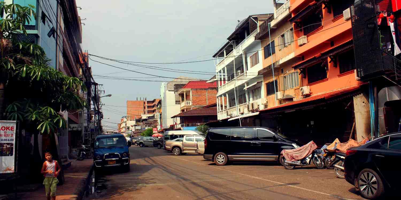 Background image of Vientiane