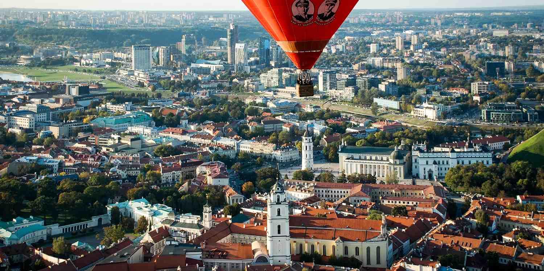 Background image of Vilnius