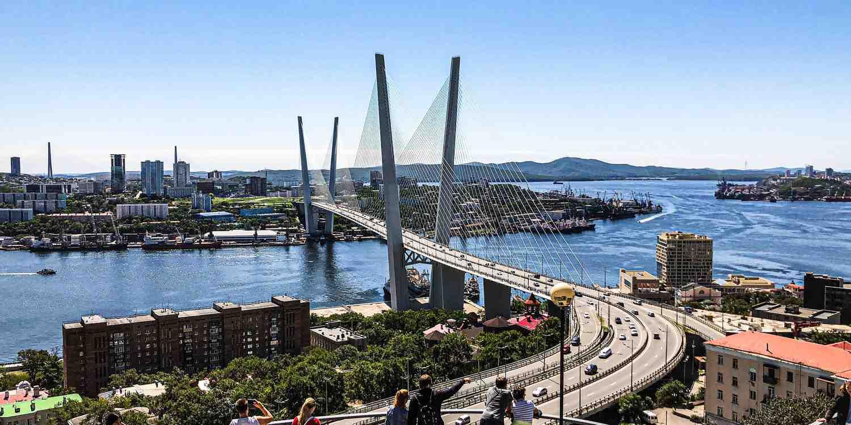 Background image of Vladivostok
