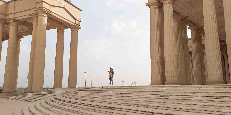 Background image of Yamoussoukro