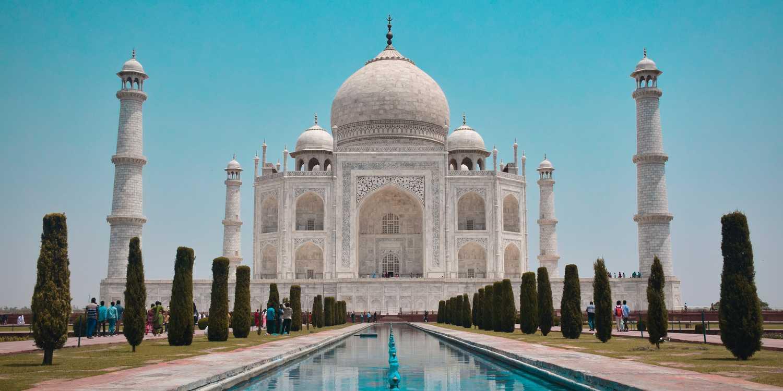 Background image of Agra