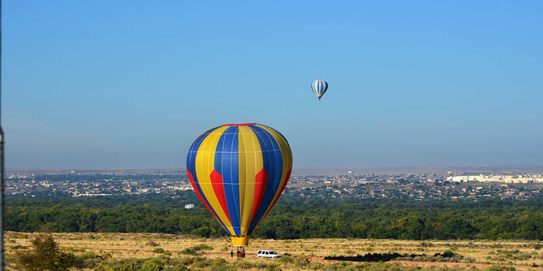 Background image of Albuquerque