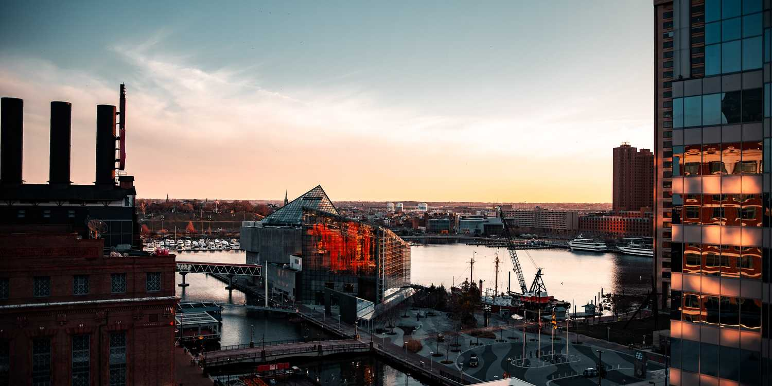 Background image of Baltimore