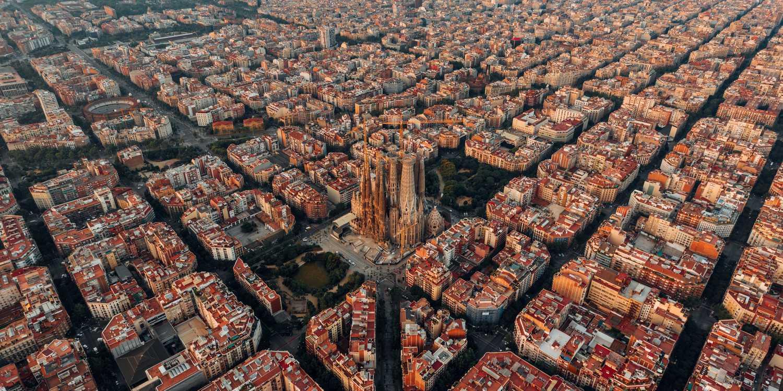 Background image of Barcelona