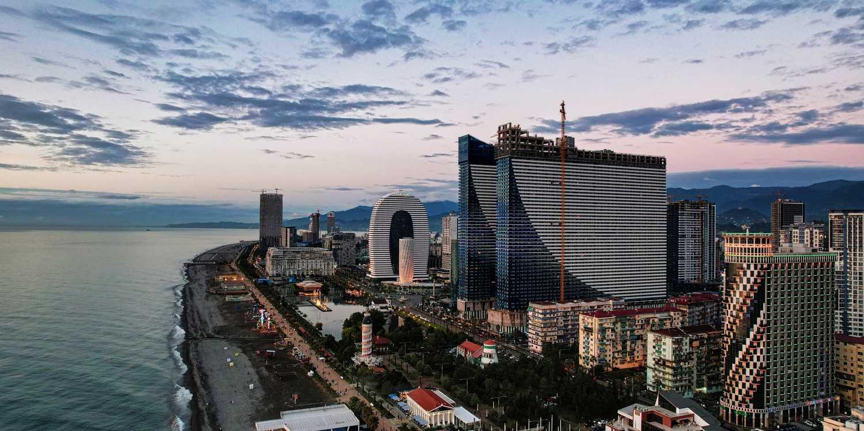 Background image of Batumi
