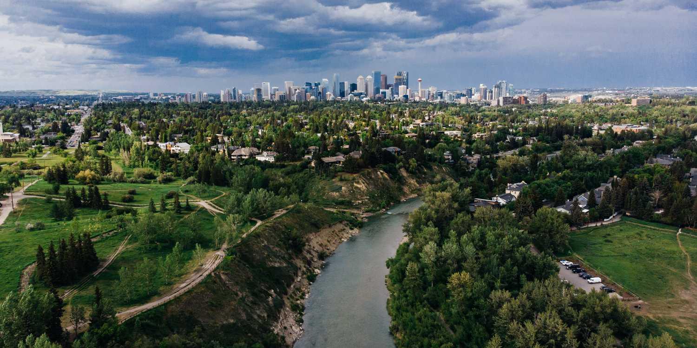 Background image of Calgary