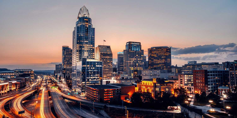 Background image of Cincinnati