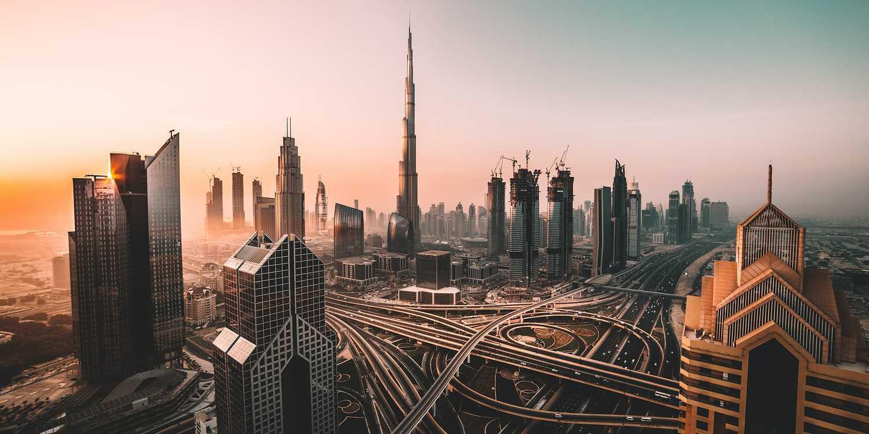 Background image of Dubai
