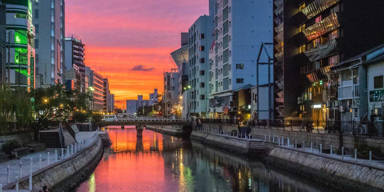 Background image of Fukuoka