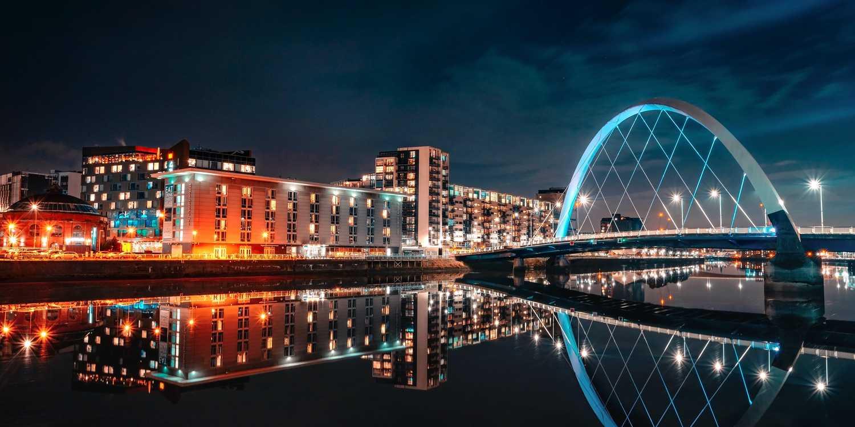 Background image of Glasgow
