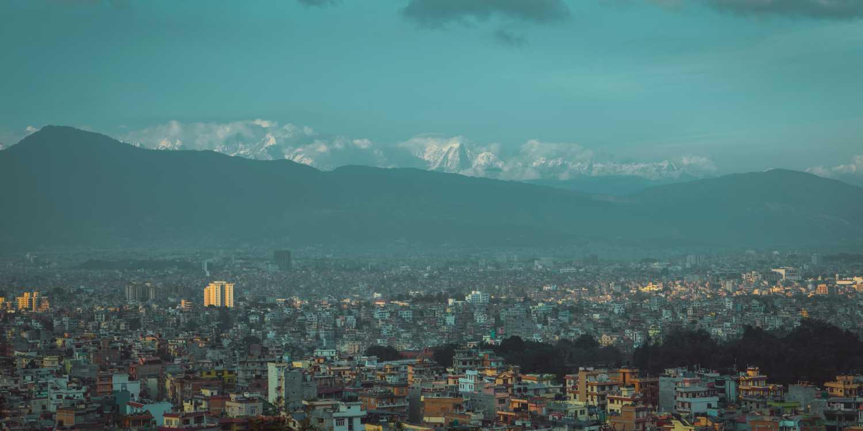 Background image of Kathmandu