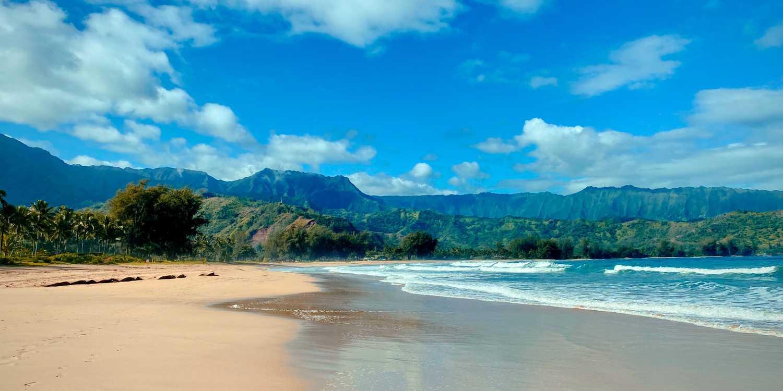 Background image of Kauai