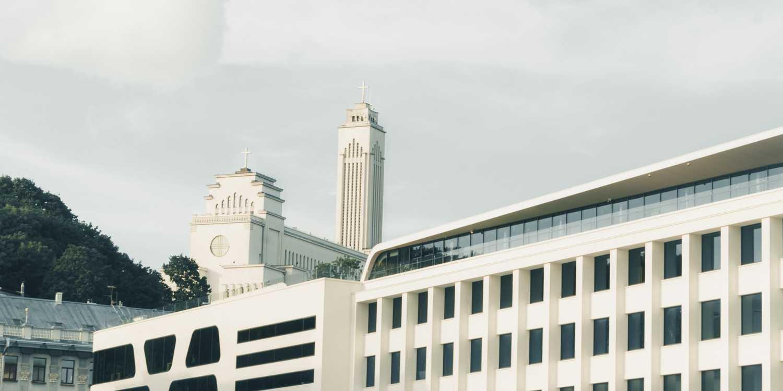 Background image of Kaunas