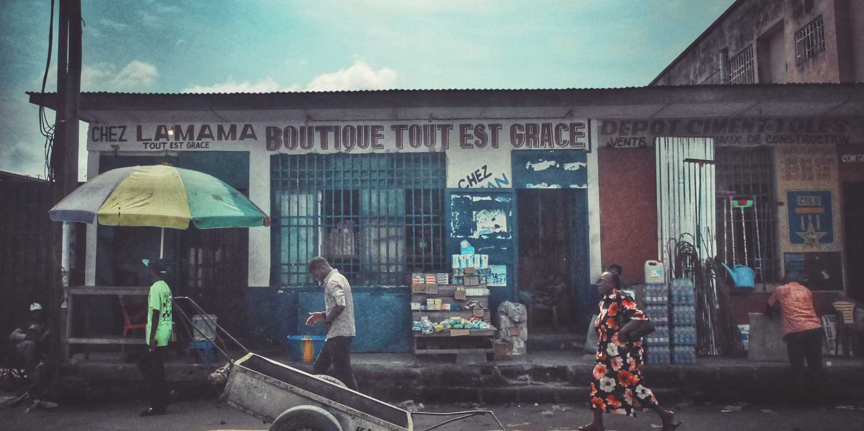 Background image of Kinshasa