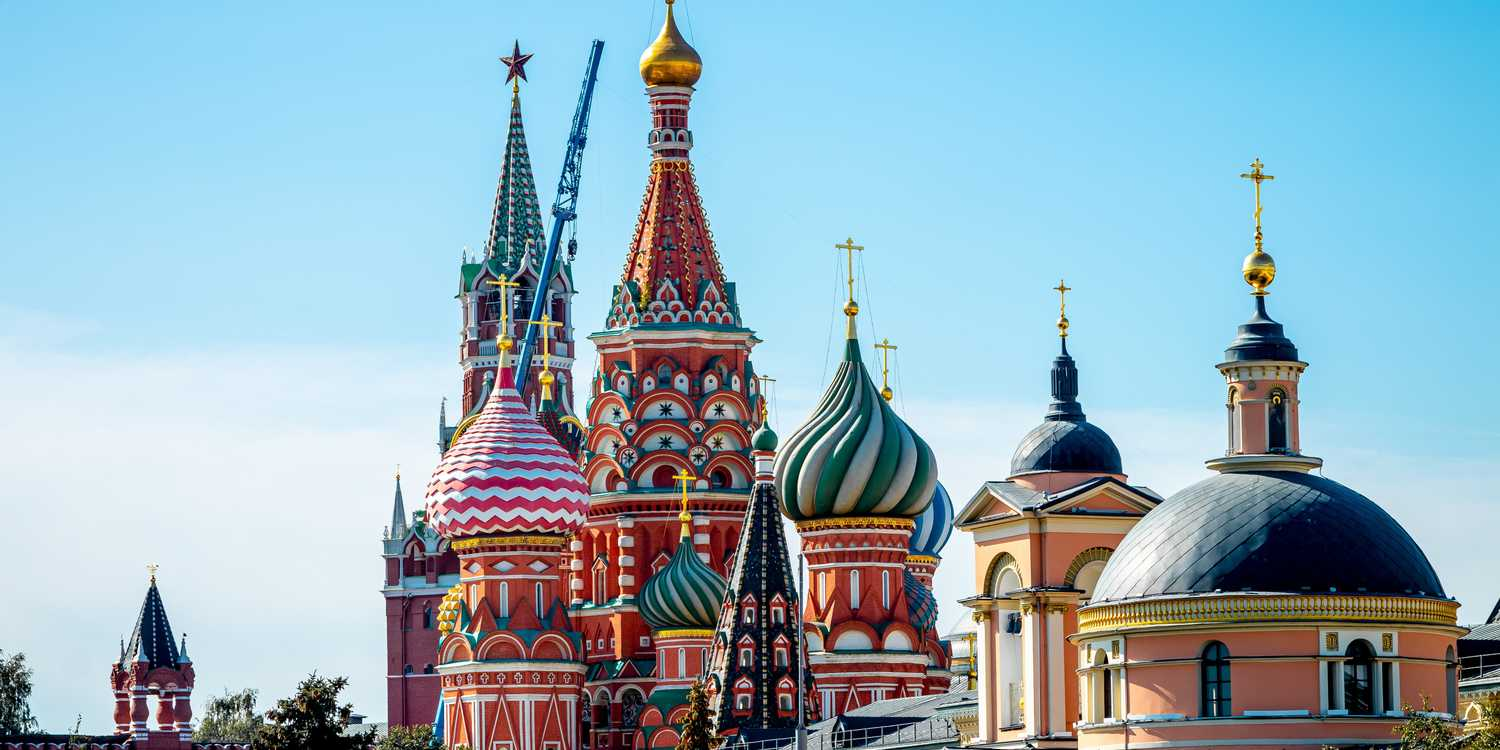 Background image of Moscow