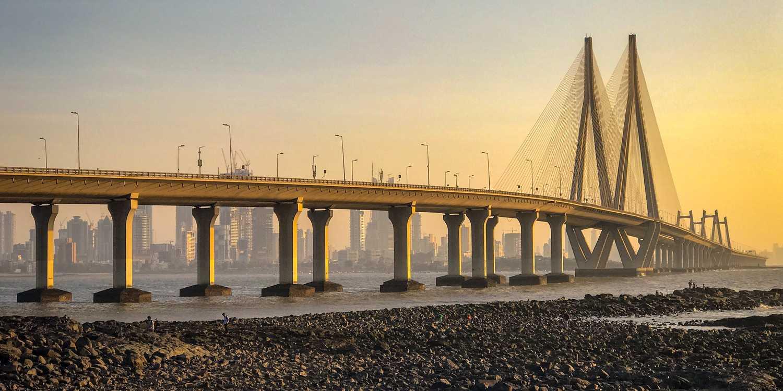 Background image of Mumbai