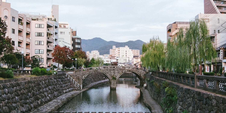 Background image of Nagasaki