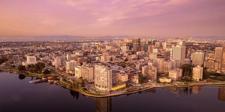 Background image of Oakland