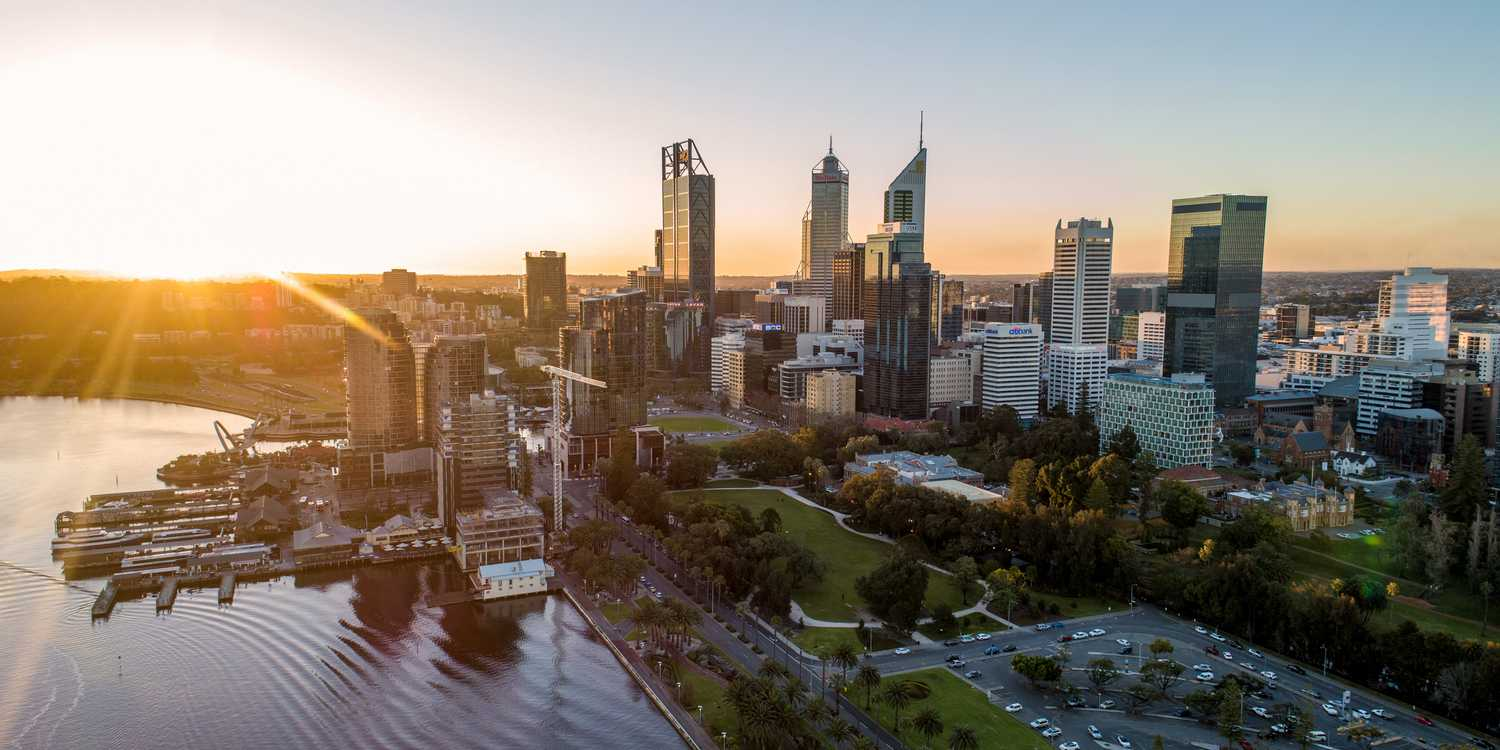 Background image of Perth