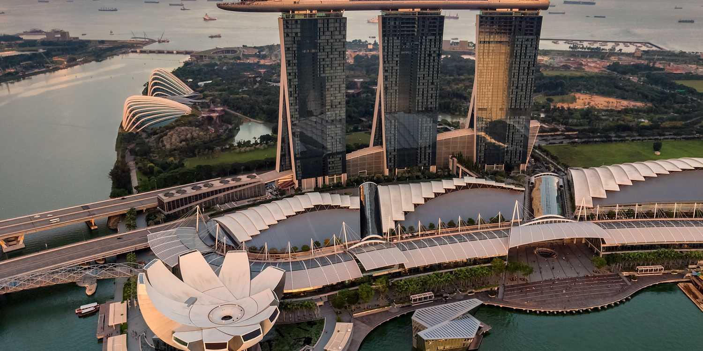 Background image of Singapore