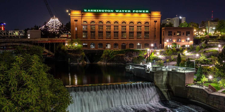 Background image of Spokane
