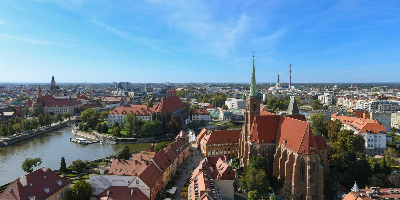 Background image of Wrocław