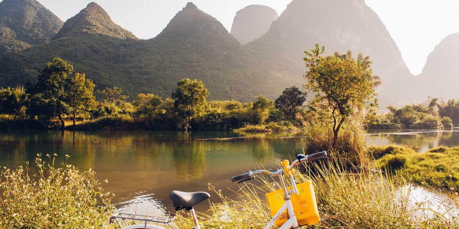 Background image of Yangshuo