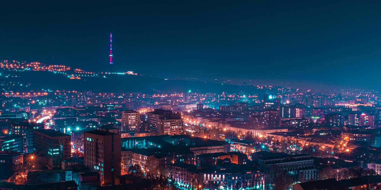 Background image of Yerevan